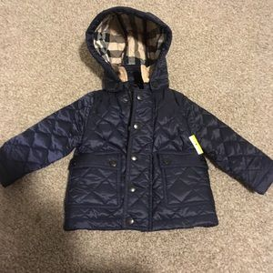 Burberry infants children diamond Quilted Jacket